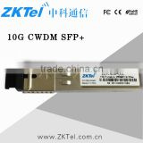 SFP+ 10G ER CWDM 1471nm&PIN Transceiver 40Km 10Gbps LC Commercial Temperature FTTH Optical Module