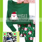 Christmas pajamas present Santa's little helper clothing set MY-A0051