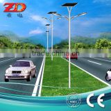 OEM ODM customization 6m~12m Q235 S235 steel solar street light post galvanized lamp pole