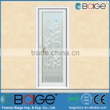 BG-AW9059 High Quality Frosted Glass Bathroom aluminum Door design