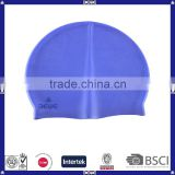 promotional ear protection silicone swimming cap