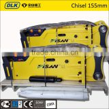 hot sale hydraulic hammer, hydraulic breaker with chisel 155mm                                                                         Quality Choice
