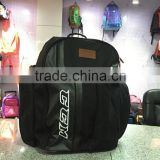 600D Ripstop polyester ice hockey equipment backpack bag
