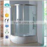 Bathroom Round Sliding Shower Entry Door Glass high quality factory made Shower Enclosure