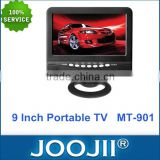 Brand new grade A display portable tv 9 inch with led back light