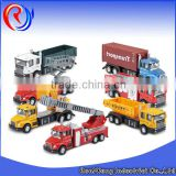 Hight quality pull back diecast fire truck toy