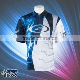 wholesale sublimated half zipper-up basketball shooting shirts for warming up