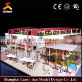 Architectural model/ miniature shipping mall scale model