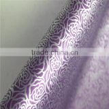 Rose pattern self adhesive pvc decoration film for glass
