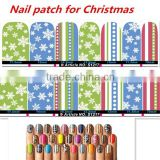 Christmas 2015 NEW whitesnow decals nail foil nail charms Nail art sticker nail supplier