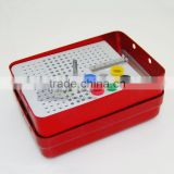 Dental Endo Box Multi Holder for dental bur surgical instruments medical sterilization box
