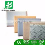 sound absorber fabric acoustic cinema wall panel acoustic fibreglass panel decorative ceiling board