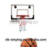 2016 New metal rim backboard basketball set hanging wall basketball game equipment for selling