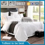 Hot selling hotel linen cotton fabric wholesale satin jaquard bedding set / bedding sheet / duvet cover sets