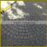 Round g684 black pearl natural stone china granite pavers pattern