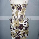 2012 fashion beach dresign shift dress
