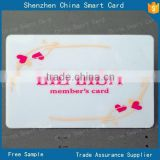 high quality standard size pvc id card with offset printing, 125khz pvc id card for EM4100