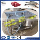 Automatic saline liquid injector/fish salting brine water injecting machine/chicken saline brine injector machine