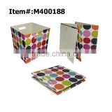 Square foldable fabric storage box                                                                                                         Supplier's Choice