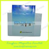 magnetic ticket pouches,magnetic sign holder,magnetic pocket film,0.5mm,vinyl magnetic backing,clear plastic front