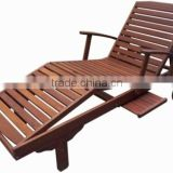 Meranti Outdoor / Garden Furniture Set - Sun Lounger