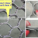 304 Hexagonal Mesh / Hexsteel / Hex Mesh for Refractory Flue Gas Lines