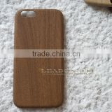 for iphone 6 case, for apple iphone 6 cell phone case wood skin pattern ultra thin soft leather case