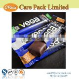 Back sealing energy bar and snack use packaging bag pouch                                                                         Quality Choice