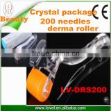 China Factory Direct Wholesale beauty Equipment DRS 200 Needles Stainless Steel Derma Roller