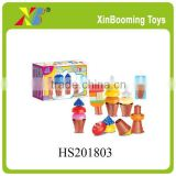 Kids Funny Building Brick Toy, Ice Cream Brick Toy