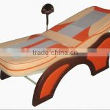 Thermal jade roller massage bed with gasbag