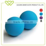 Wholesale Colorful Massage Ball Peanut Double Rubber Lacrosse Ball
