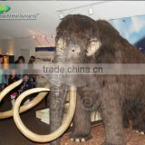 Theme Park Animatronic Animal For Sale , Model Life Size Simulation Mammoth