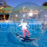 2016 hot sales and high quality colorful youtube zorb water ball/walk on water balls for sale/rollering ball