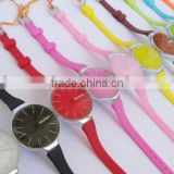 very cheap and new silicone led watch for gifts