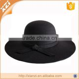 Black hat winter floppy faux wool felt hat cheap                                                                         Quality Choice