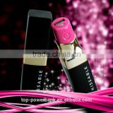 2016 best selling breslate design low price private label lipstick china mobile phone charger