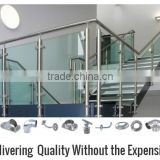 aluminum stainless steel luxury staircase s/stair balustrade /outdoor stair handrail and accessories
