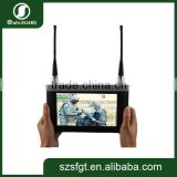 7'' touch-screen Handheld COFDM micro wireless COFDM hdmi transmitter and receiver