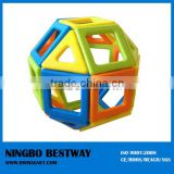 magnetic building shapes puzzle building educational toy