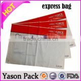 Yason aramex courier service custom high quality logo printed courier mailing bag american express bag black card