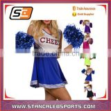 Stan Caleb 2016 New hot sexy dry fit cheerleading uniforms with your own logo cheerleader dress
