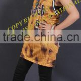 Hot sale....basketball jersey for women in printed skin/ sublimation printed basketball jersey