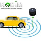 Low cost zigbee traffic magnetic sensor vehicle detector for car counting system