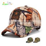 wholesale/high quality printed cotton twill 6 panel customs logo camouflage fabrics material for baseball cap with applique