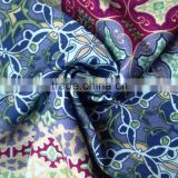 Functional fireproof embroidery designs custom printed italian cotton mesh shirting fabric