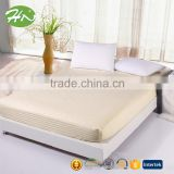 100%cotton hotel shining satin elastic queen/king size fitted sheet OEM and factory price