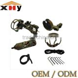 CAMO Five pin optical bow sight, Braided bow sling for archery compound bow