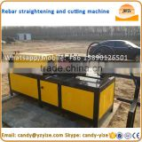 scrap rebar straightening machine , steel round bar cutting machine , steel wire straightening and cutting machine