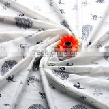 Knitting fabric for shirts Bamboo knitting and woven fabric Used for home textile, garment